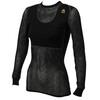 Aclima W's Woolnet Shirt Crew Neck Black